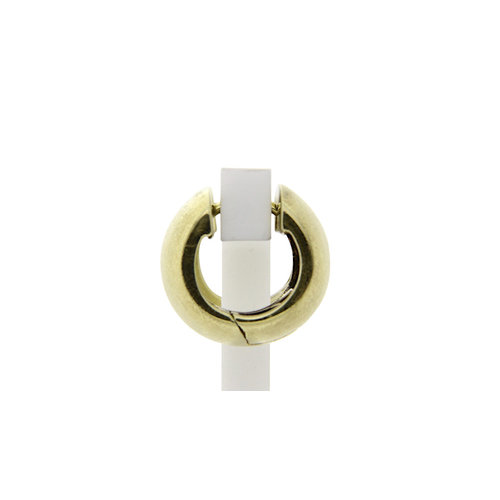 Golden smooth clasps 14 crt