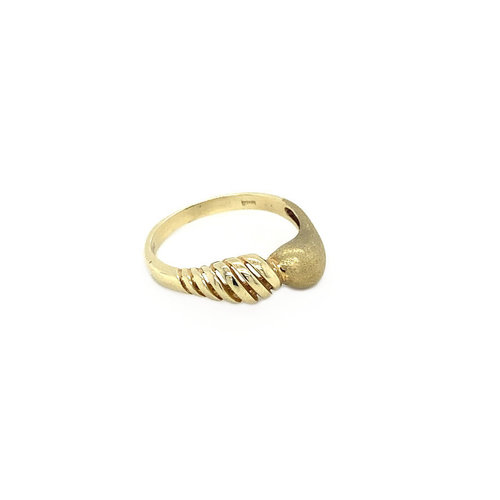 Gold Fantasy Ring 14 krt