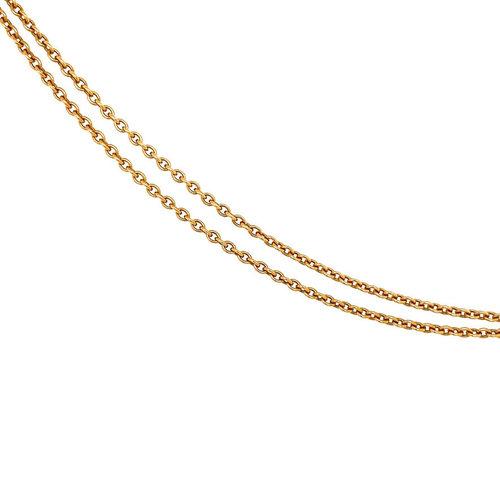 Roségold Halskette mit Tahito Perle und Diamant 18 krt * neu