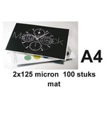 GBC Lamineerhoes GBC A4 2x125micron Mat 100vel