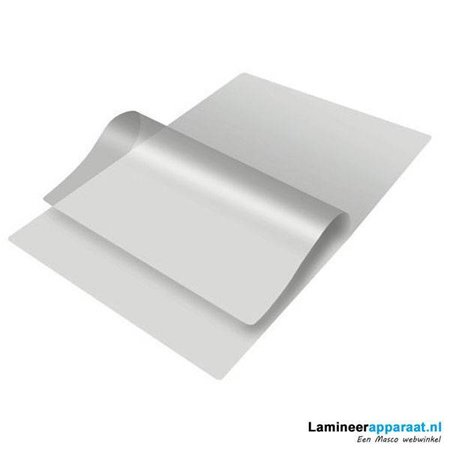 GBC Lamineerhoes GBC A2 2x125micron glanzend 50vel