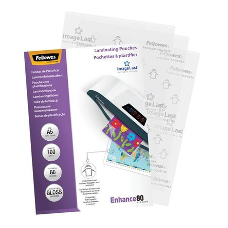 Fellowes Lamineerhoes Fellowes A5 2x80micron 100vel