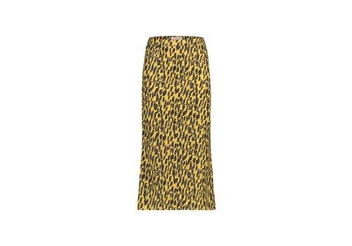 Robin Skirt - Yellow Animal Print
