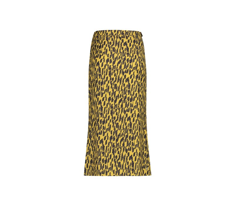 Robin Skirt - Yellow Animal Print