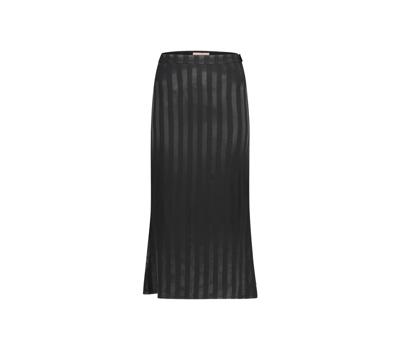 Robin Skirt - Black Stripe