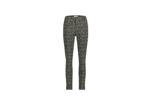Paris Pants - Army Green Aop