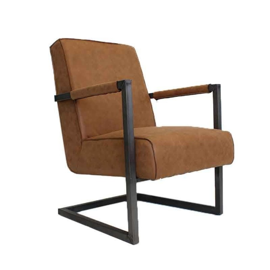 Cognac Tyler Tyler Fauteuil Moderne Design Fauteuil Cognac Design N08mnw