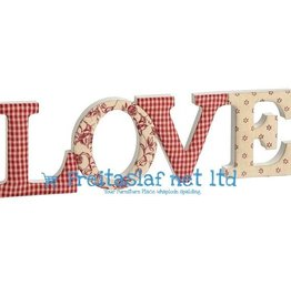 Hill Interiors Fabric Love Letters