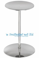 Hill Interiors Nickel Candle Stand
