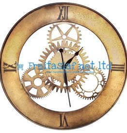 Metal Large Wall Clock