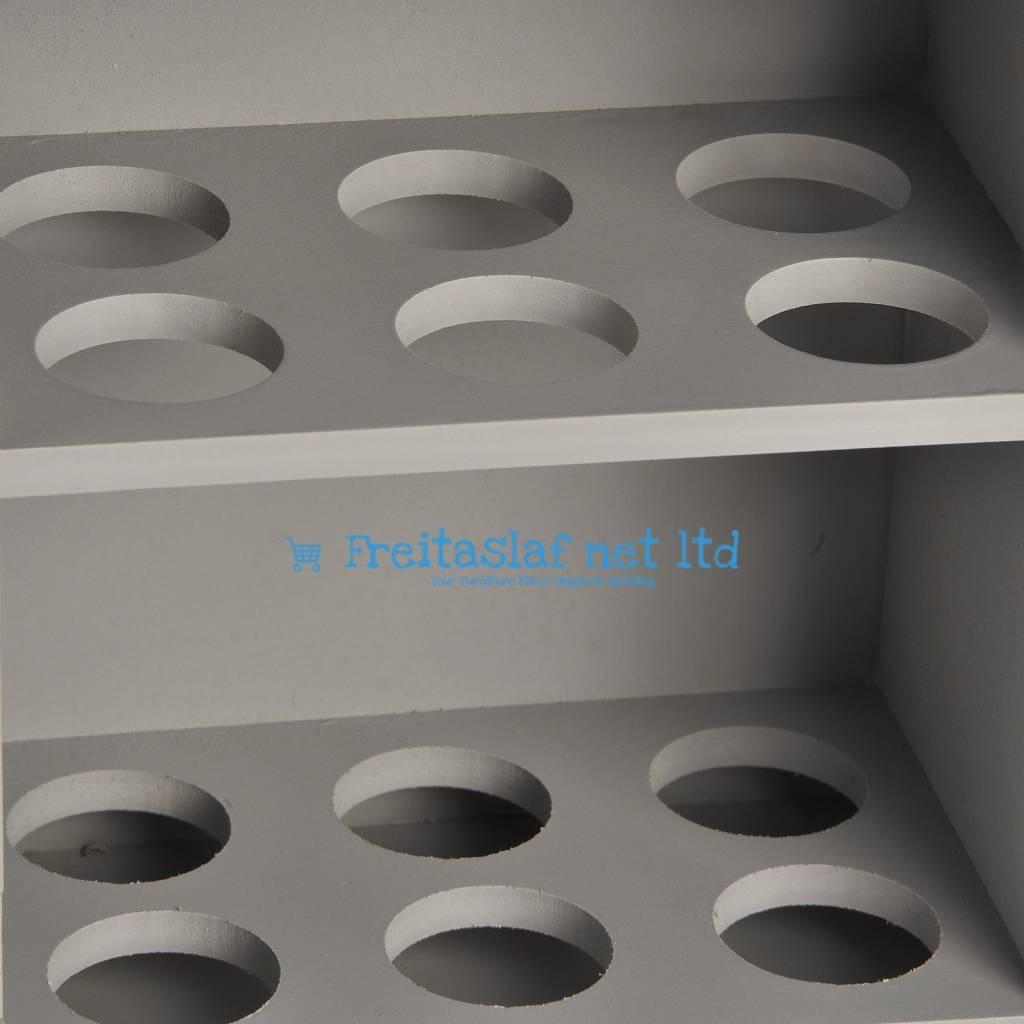 Hill Interiors Grey Egg Cabinet