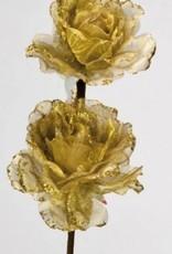 Gold Flower Sprig