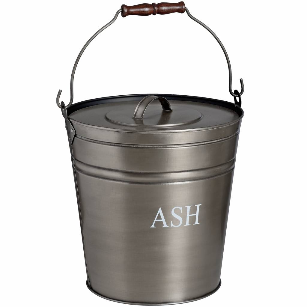 Hill Interiors Antique Pewter Ash Bucket