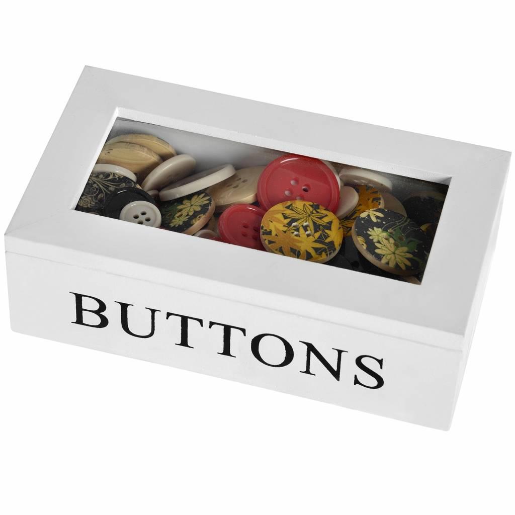 Hill Interiors Buttons Box