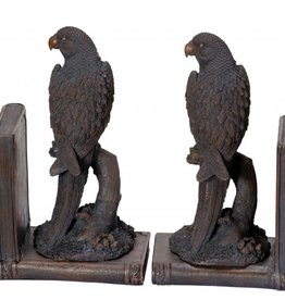 Parrots Bookends