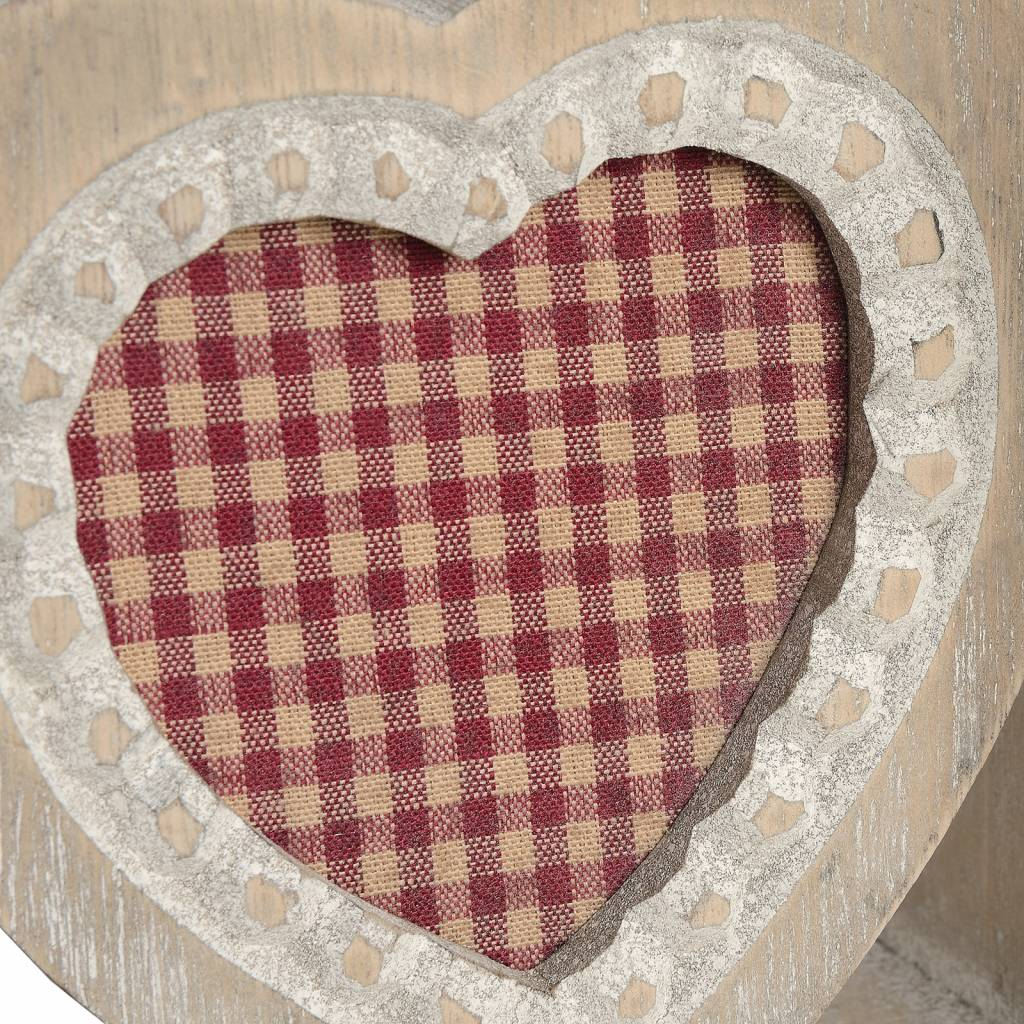 Hill Interiors Heart Bookends