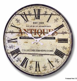 Hill Interiors J P Ashbury Antiques Clock
