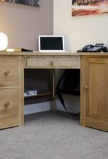 HomestyleGB Torino Oak Corner Desk