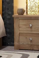 HomestyleGB Torino Oak Narrow Bedside