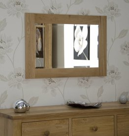 Opus Oak Small Wall Mirror