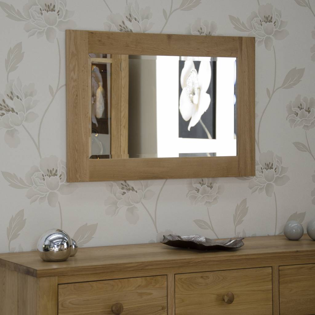 HomestyleGB Opus Oak Small Wall Mirror