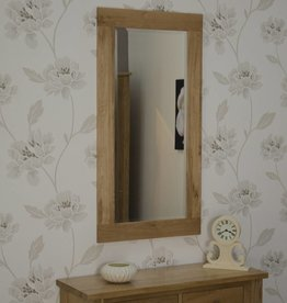 Opus Oak Tall Wall Mirror