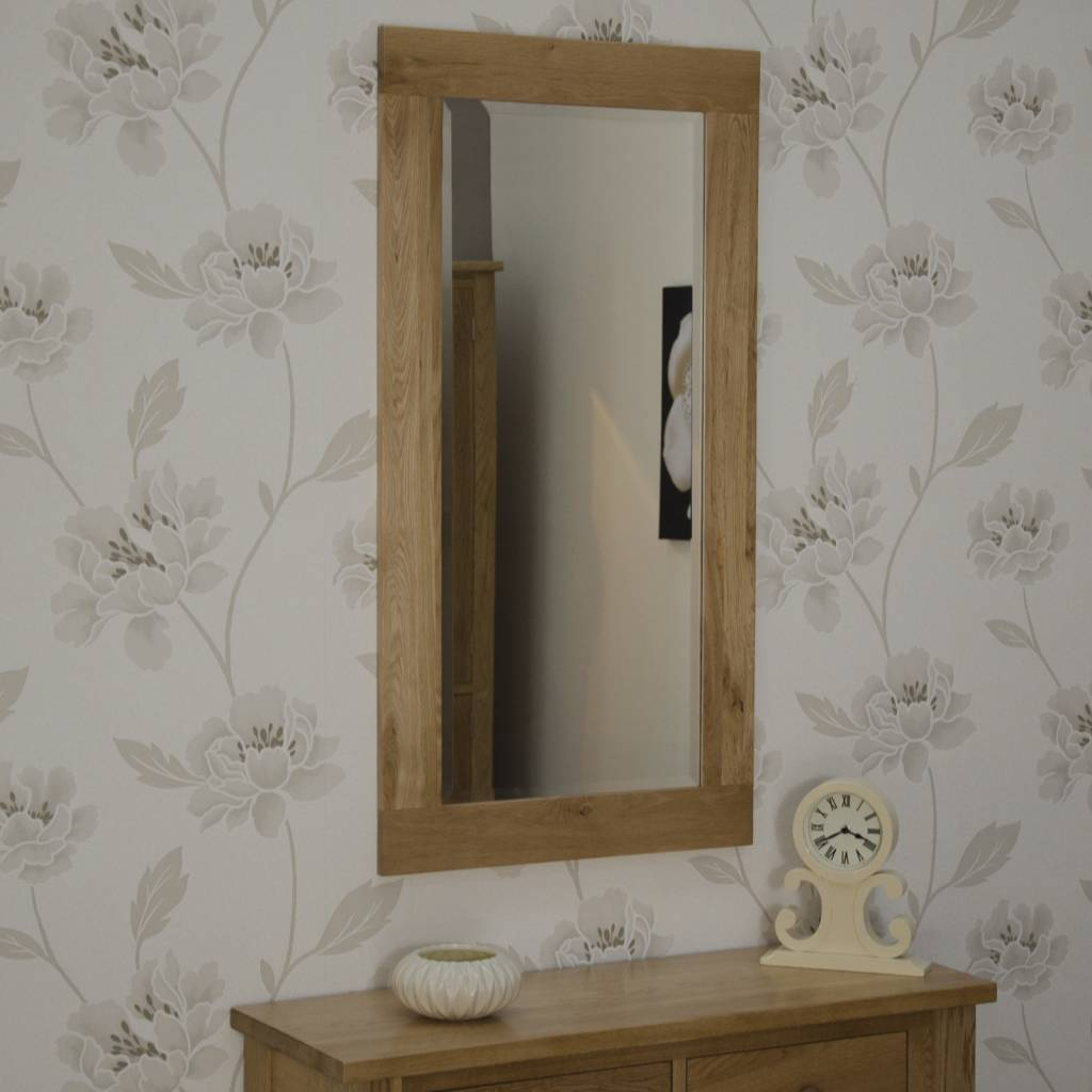 HomestyleGB Opus Oak Tall Wall Mirror