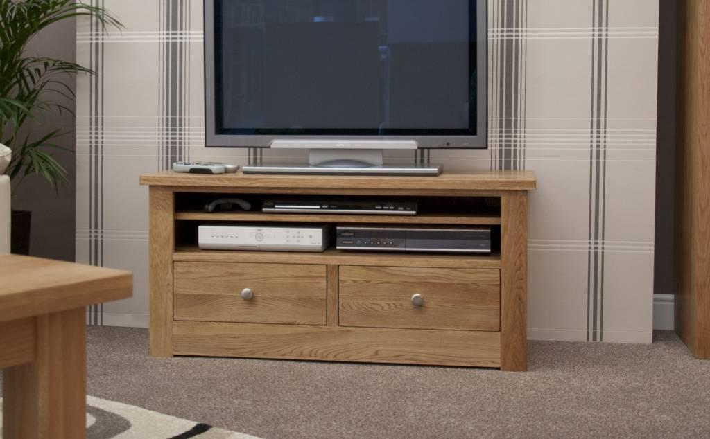 HomestyleGB Torino Oak Small Plasma Unit