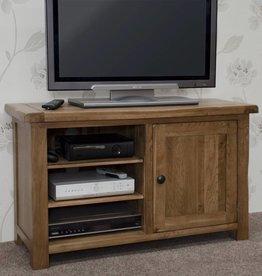Rustic Oak TV Plasma Unit