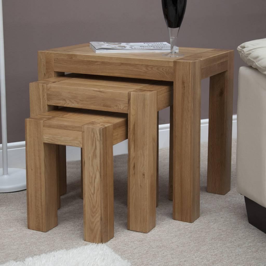 HomestyleGB Trend Oak Nest of Tables