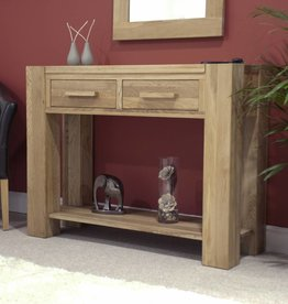 HomestyleGB Trend Oak Console Table