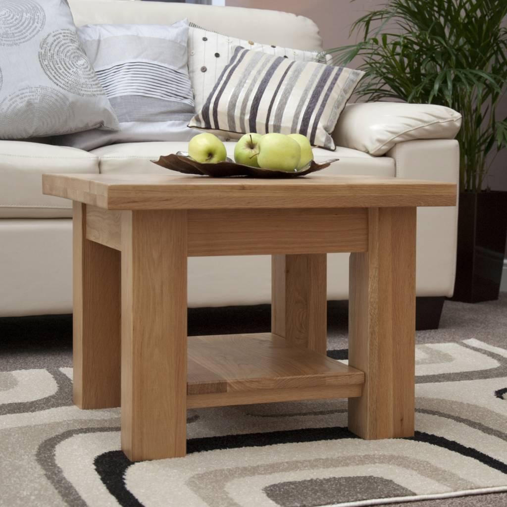 HomestyleGB Torino Oak Small Coffee Table