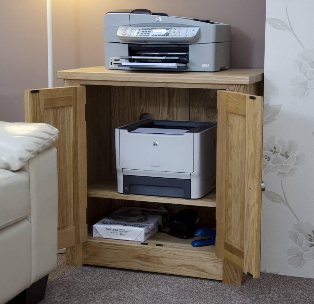 HomestyleGB Torino Oak Printer Occasional Cabinet