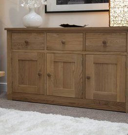 Torino Oak Large Sideboard