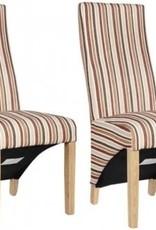 HomestyleGB Richmond Royale Striped Dining Chair