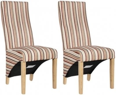 Richmond Royale Striped Dining Chair