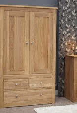 HomestyleGB Torino Oak Gents Wardrobe