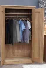 Torino Oak Double Wardrobe