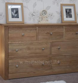 HomestyleGB Torino Oak Extra Wide Multi Chest