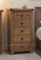 HomestyleGB Rustic Oak Narrow Chest