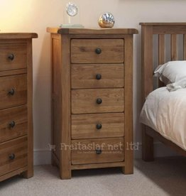 HomestyleGB Rustic Oak Narrow Chest