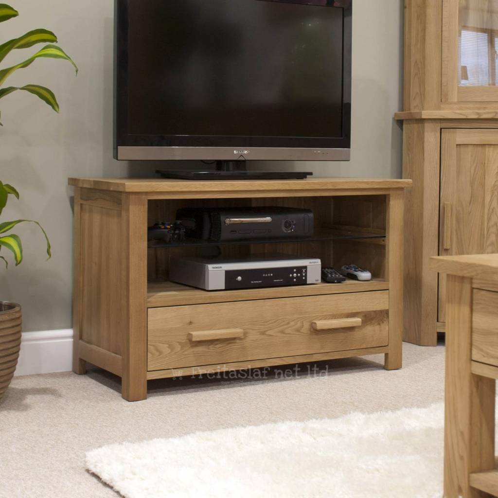 Opus Oak TV Cabinet