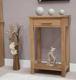 Opus Oak Small Console Table