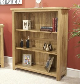 HomestyleGB Opus Oak Small Bookcase