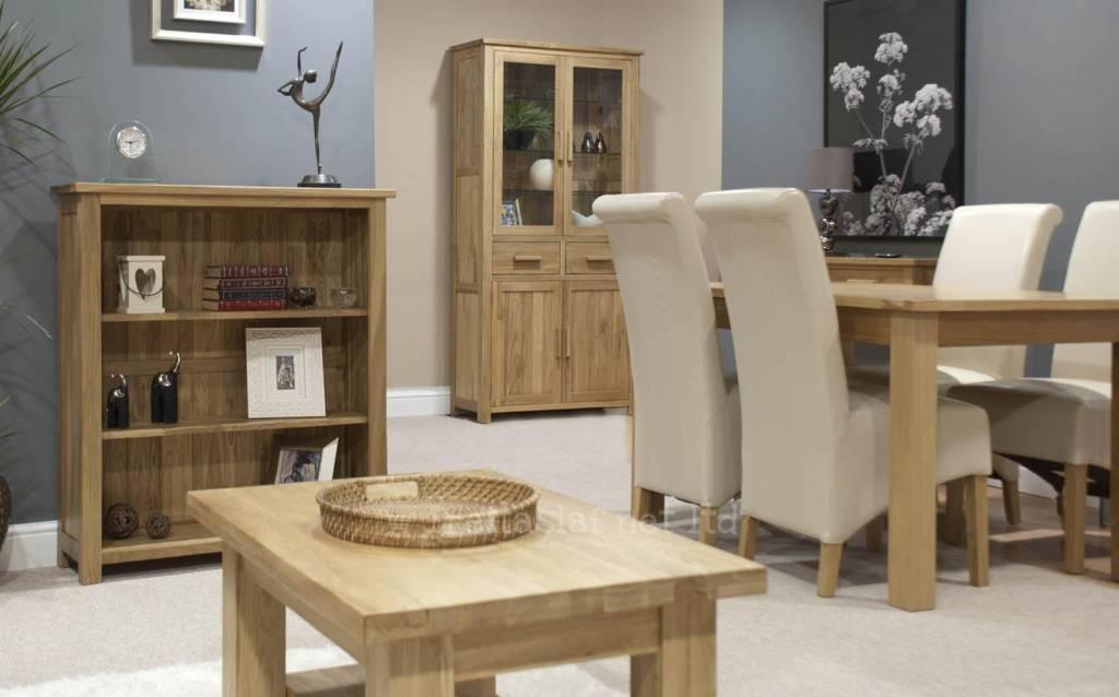 HomestyleGB Opus Oak Small Bookcase