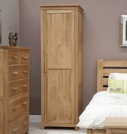 Opus Oak Single Wardrobe