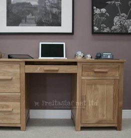 HomestyleGB Opus Oak Large Desk