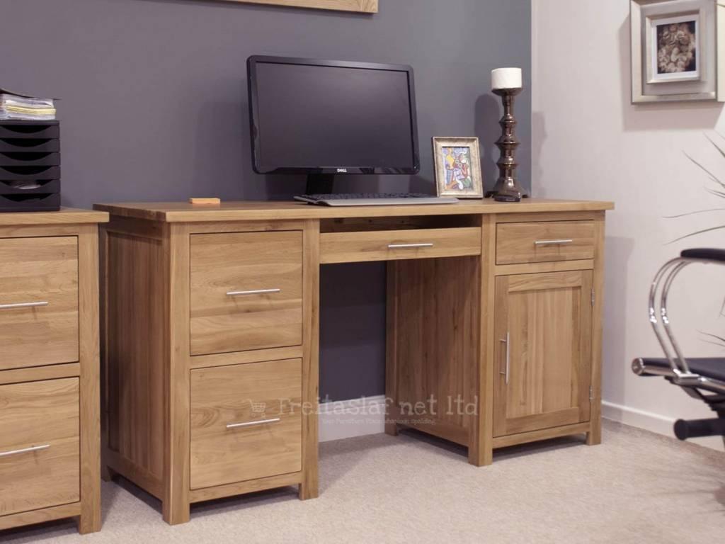 HomestyleGB Opus Oak Large Desk