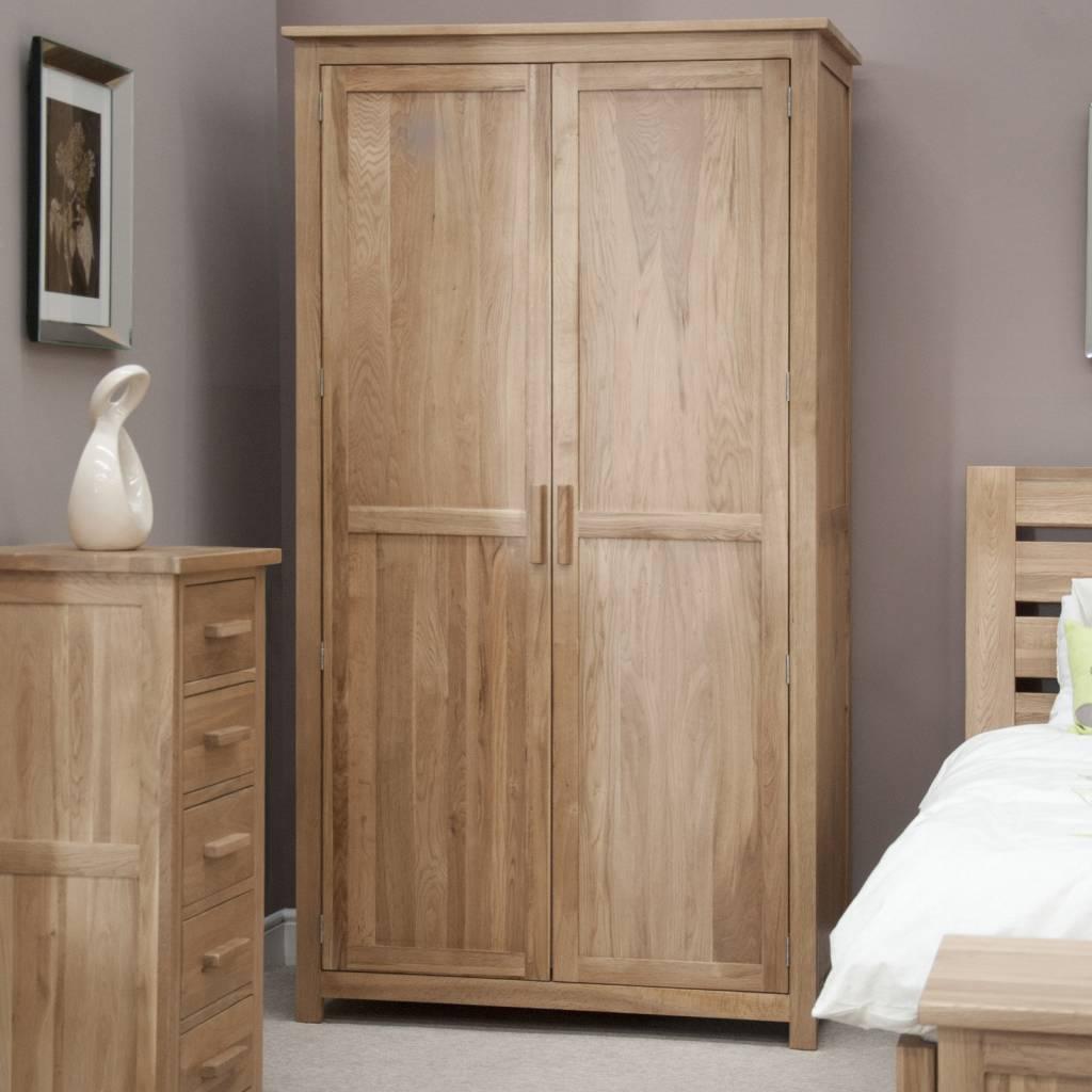HomestyleGB Opus Oak Ladies Wardrobe