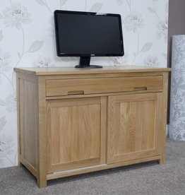 HomestyleGB Opus Oak Hideaway Desk